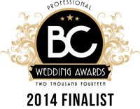 Waterfront Wines Catering Wedding Awards 2014