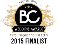 Waterfront Wines Catering Wedding Awards 2015